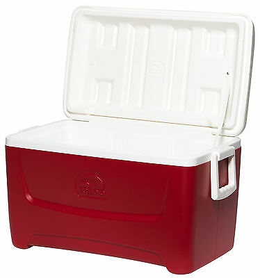 Igloo Island Breeze 48 45 L Litre Red Large Family Size Ice Pack Cool Box Cooler