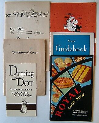 6 Vintage Cookbooks