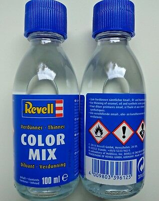 (4,99€/100ml) Revell 39612 Color-Mix 100 ml, Modellbauverdünner, Verdünner Email