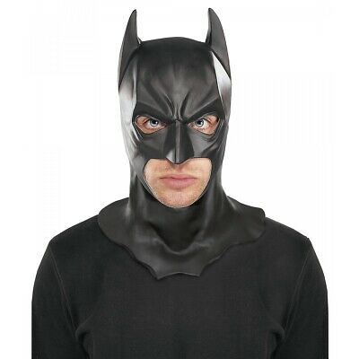 Batman Full Mask with Cowl Adult The Dark Knight Rises Halloween Costume Acsry