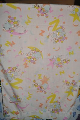 POPPLES vintage PILLOWCASE fabric  1980s