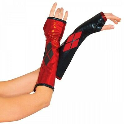 Harley Quinn Gauntlets Costume Accessory Adult DC Comics Halloween