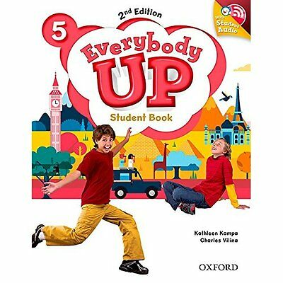 Everybody Up: Level 5: Student Book with Audio CD Pack: - Paperback NEW Patrick