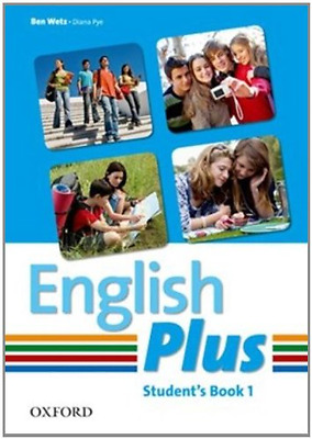 English Plus: 1: Student Book: An English secondary cou - Paperback NEW Ben Wetz