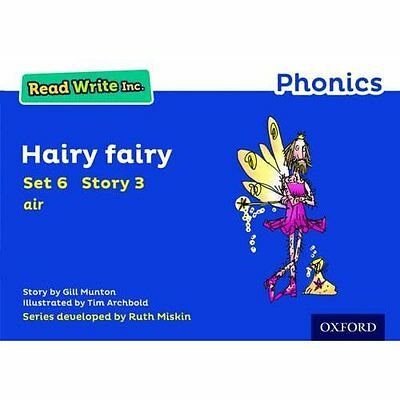 Read Write Inc. Phonics: Blue Set 6 Storybook 3 Hairy F - Paperback NEW Gill Mun