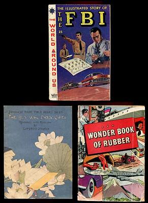 The Fbi, Japanese Fairy Tale, Wonder Book Of Rubber