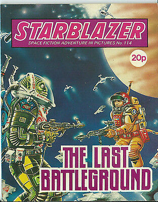 The Last Battleground,starblazer Space Fiction Adventure In Pictures,no.114