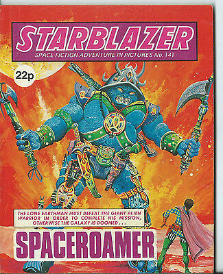 Spaceroamer,starblazer Space Fiction Adventure In Pictures,no.141,1985