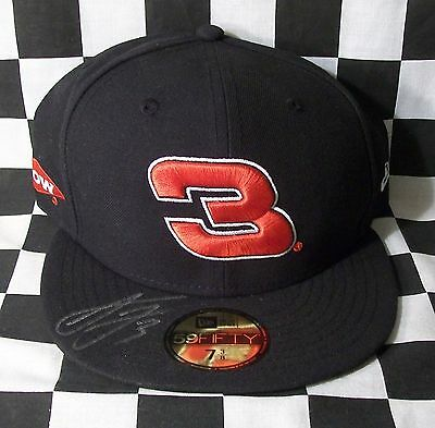 Rare 2017 New Era 59Fifty Hat / Cap Signed By Austin Dillon Purchased From Rcr!!
