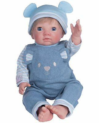 Chad Valley Tiny Treasures Blue Dungarees Outfit -From the Argos Shop on ebay