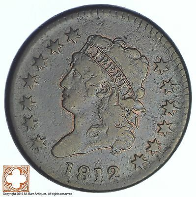 1812 Classic Head Large Cent *XB11