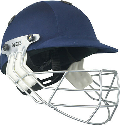Dukes Legend Junior Cricket Sports Accessory Headguard Batsman Protection Helmet