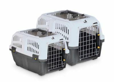 Transportbox Hundebox Hundetransportbox SKUDO 2 Open 55 x 36 x 35 cm