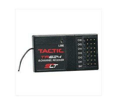 Logic RC TACL0624 - TR624 2.4GHz 6 Channel SLT Receiver - Tracked 48 Post