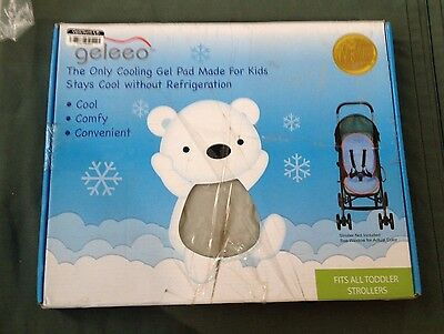 Geleeo Stroller Cooling Gel Pad for Kids Stays Cool without Refrigeration