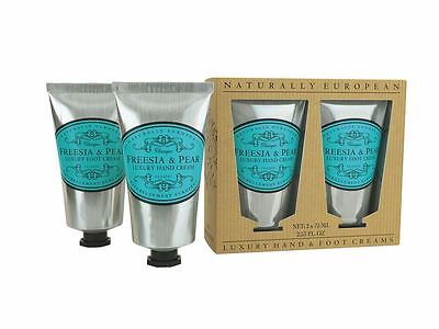 Naturally European Freesia and Pear Luxury Hand & Foot Collection