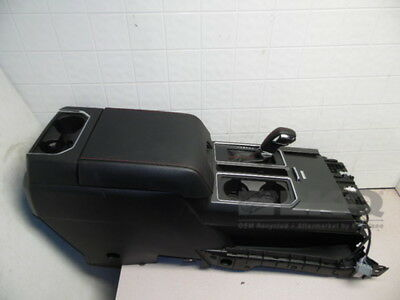 2015 2016 Ford F150 Lariat Black Center Console w/Red Stitching & Shifter OEM