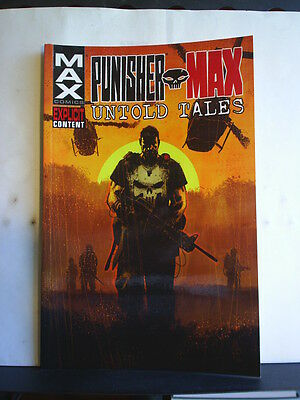 GRAPHIC NOVEL: PUNISHER MAX - UNTOLD TALES  - Paperback 2012 1st print