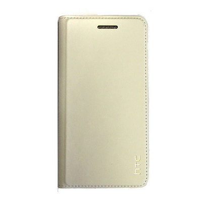 d15932d20d1585 Brand New Htc U Play Genuine Leather Flip Case Cover - Milky White -  99H20389-