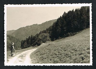 TRIBERG, altes FOTO vintage PHOTO, am Rappenfelsen im Schwarzwald /114g