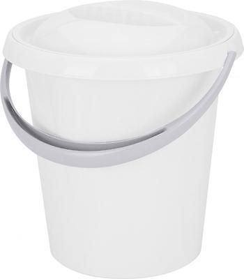 Pure White Clean Cleaning  Baby Nappy Tidy Bucket Bin With Handle And Lid