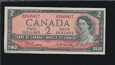 Canada $2.00 1954 - Nice Xf Or Better