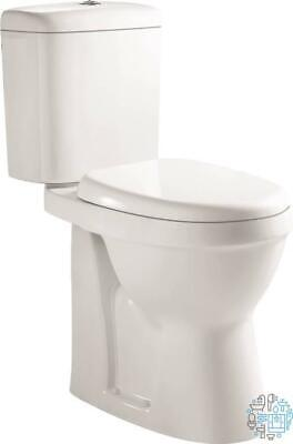 VeeBath Verona Comfort Height Toilet WC Close Coupled Pan Cloakroom Ceramic