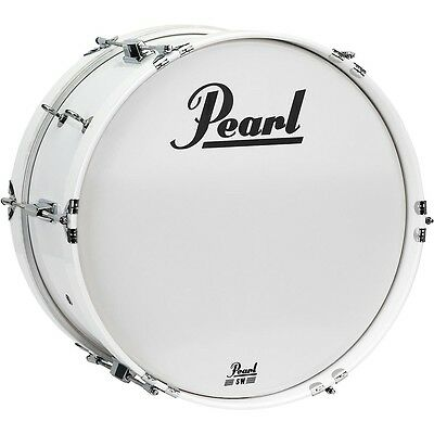 Pearl Junior Marching Bass Drum and Carrier 18 x 8 in. LN