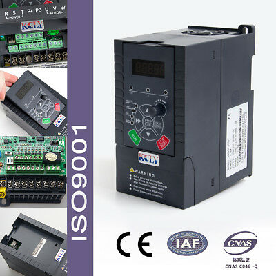 1.5KW 2hp 220VAC 7A Single Phase Variable Speed Drive VSD AC VFD Inverter