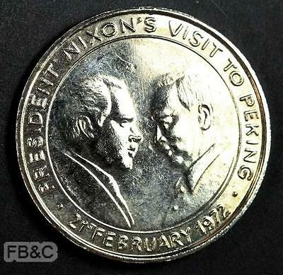 1972 President Nixon's Visit to Peking Commemorative Medal
