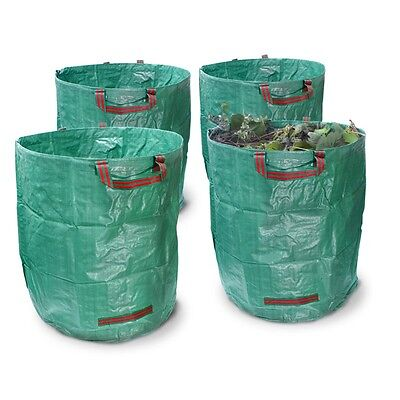Garden clearance 270l storage bags set x4 67x76 cm tidy bag waterproof foldable