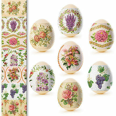 Thermo Heat Shrink Sleeve for 7 Hen Easter Egg Wraps Pysanka Pysanky Decoupage