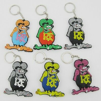 NEW Rat Fink Key Chain,SET OF 6