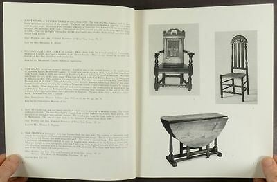 Antique New Jersey Furniture - Colonial & Federal -A Newark Museum Catalog