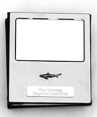 Shark KR Design Silver Personalised Photo Album FREE ENGRAVING 100 Photos 319