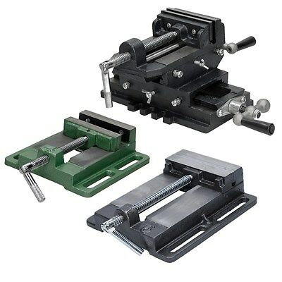 2-axis 100 150 mm mechanical engeneering bench machine vice drill press vise