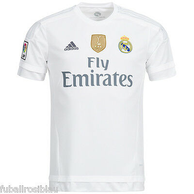 Real Madrid Jersey Size S L XL XXXL Ronaldo Kroos Bale Ramos Flocking possible