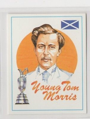 #2 Young Tom Morris - Open Champions Golf Collector Card