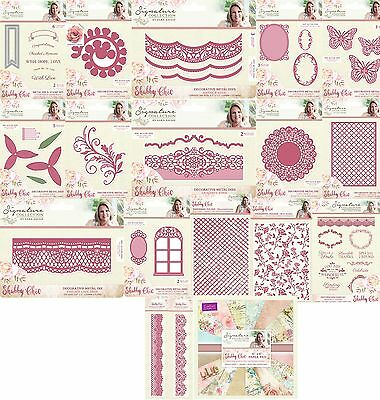 Crafters Companion - Shabby Chic - SARA SIGNATURE COLLECTION - Cardmaking