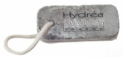 Hydrea London Natural Carved Pumice Stone with Rope PUSR For Hard Dry Skin