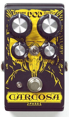 DOD Carcosa Electric Guitar Fuzz Effects Pedal DOD0012