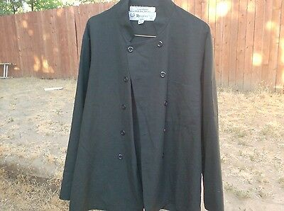 Chef Coats 2 Black size Small $12.00 For Both Coats