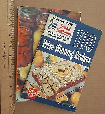 Antique Cookbooks/manuals, Pillsbury Food Manufacturer And Other, Two Included