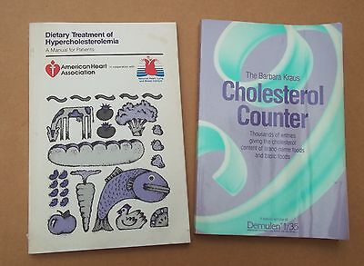 Medical Manuals, Treatment Of Hypercholesterolemia, Cholesterol Count, 2 Books