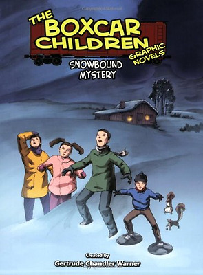 Snowbound Mystery (Boxcar Children Graphic Novels (Pape - Paperback NEW Worley,