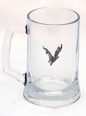 Brown Bear Grizzly Motif Tankard Beer Glass Pint Lager Wildlife Gift Present 026