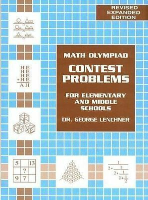 Math Olympiad Contest Problem for Elementary & Middle School Volume 1 NEW