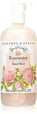 Crabtree & Evelyn Rosewater Savon pour les mains unisexe 500 ml | cod. Q291014
