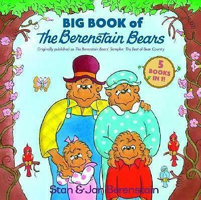 NEW The Big Book of Berenstain Bears By Stan Berenstain Hardcover Free Shipping