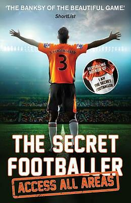 NEW The Secret Footballer By  Anon Paperback Free Shipping